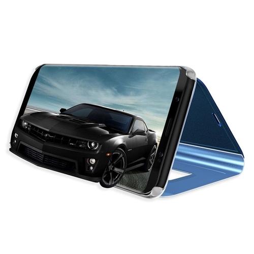 Clear View Case futerał etui z klapką Samsung Galaxy S10 Plus różowy